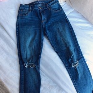 Old Navy Ripped Skinnies